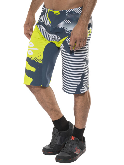 100% R-Core X DH Shorts Men camo / white